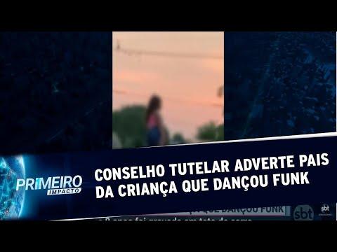 Conselho Tutelar adverte pais da menina filmada dançando funk | Primeiro Impacto (27/08/20)