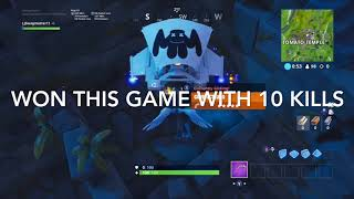 New Update Gameplay! (Fortnite Battle Royale).       One apex Clip!