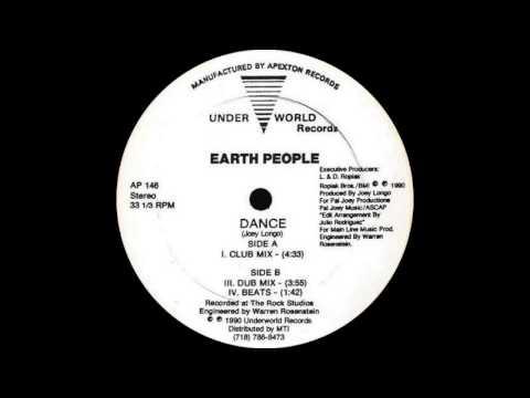Earth People - Dance (Dub Mix 1990)