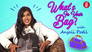 'What's In Your Bag': Anjali Patil Shows Off Her WEIRD Personal Possesions