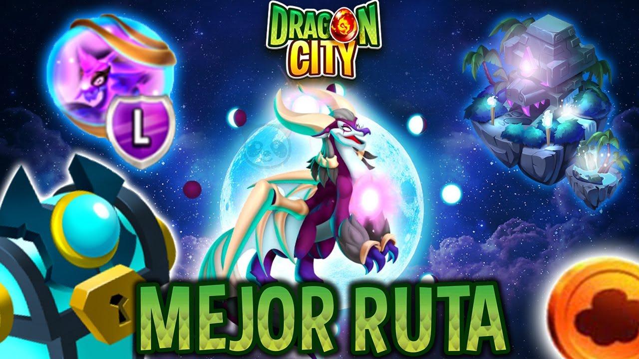 ISLA LUNA LLENA [GUÍA COMPLETA]😎 CONSIGUE al DRAGÓN LADY LUNA & COFRES GRATIS! Dragon City