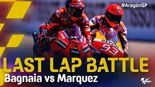 Bagnaia vs Marquez Last Lap Battle in Multiple Languages