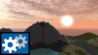 ROBLOX: Comment faire Smooth Terrain Volcano