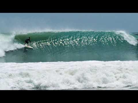 Surfing Hurricanes Jose & Maria Somewhere in Dominican Republic