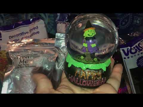 🔮 ANOTHER DOLLAR TREE HALLOWEEN HAUL, HALLOWEEN SOCKS - OCTOBER 2018 🔮
