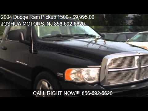 2004 dodge ram pickup 1500 for sale in vineland nj 08360 for Joshua motors vineland nj