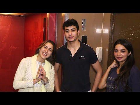 Sara Ali Khan watches Kalank with mother Amrita Singh, Ibrahim joins