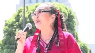 2015/06/20東京 国会周辺にて、戦争法案絶対反対 安倍政権にレッドカー...