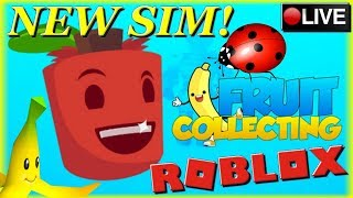 NEW ROBLOX GAME! [FRUIT COLLECTING SIMULATOR]