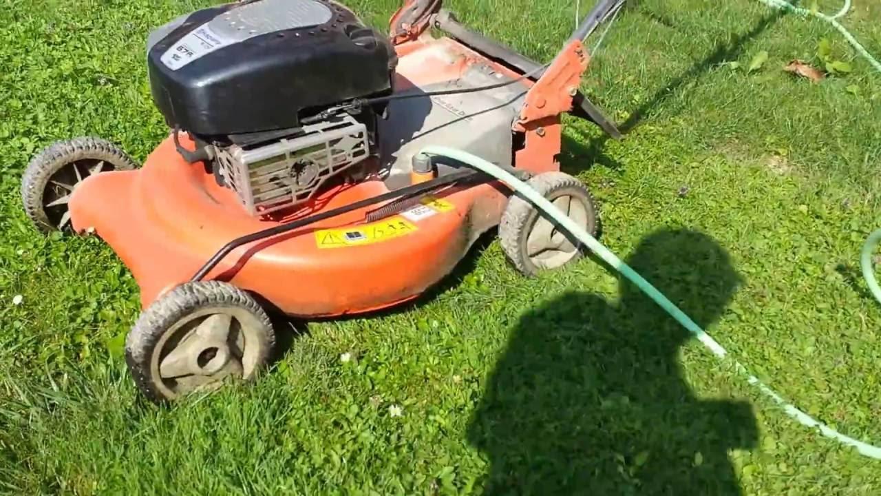 Mower Deck Washers : Lawn mower deck wash youtube