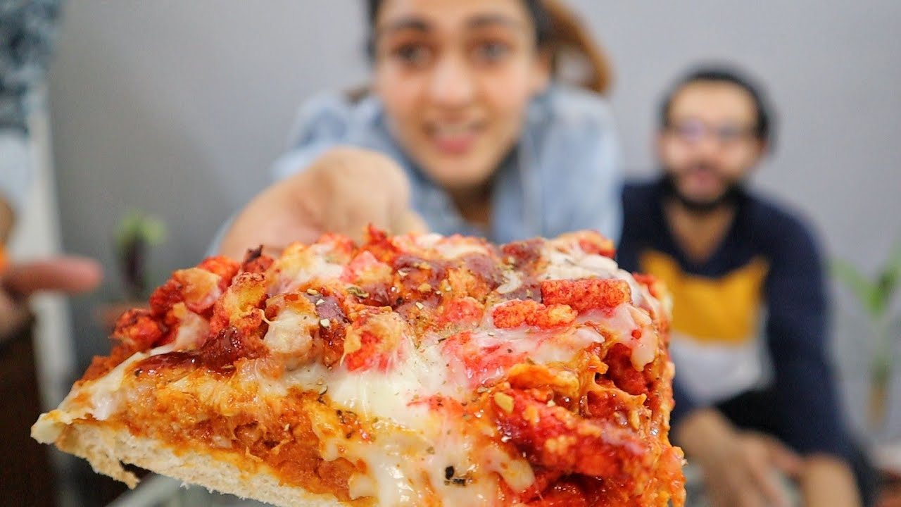 🍕 PIZZA Made Of CHIPS 😱 || Never Seen Anything Like This Before.....