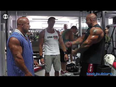 Delts Workout For Mass With Michael Kefalianos & David Balasas