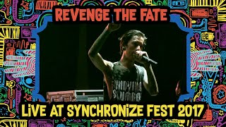 Video Revenge The Fate Live at SynchronizeFest 2017 download MP3, 3GP, MP4, WEBM, AVI, FLV Oktober 2018