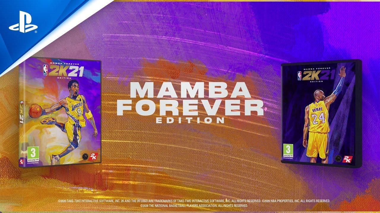 Nba 2k21 Celebrating Kobe Bryant In The Mamba Forever Edition Ps4 Ps5 Youtube