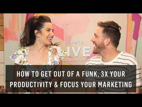 Get Outta That Funk! Discover Untapped Motivation, 3X Productivity & Hyper-Focus Your Marketing