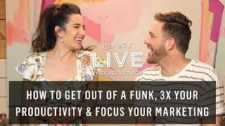 Video Get Outta That Funk! Discover Untapped Motivation, 3X Productivity & Hyper-Focus Your Marketing download MP3, 3GP, MP4, WEBM, AVI, FLV Oktober 2018