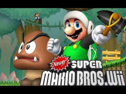 Newer Super Mario Bros Wii Dolphin 60 FPS HD Textures (Modded) Live Stream  New Start Part 2