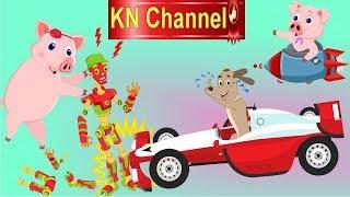 CHÓ VÀ HEO CON NÓI DỐI MẸ VÀ CÁI KẾT...  HOẠT HÌNH KN Channel