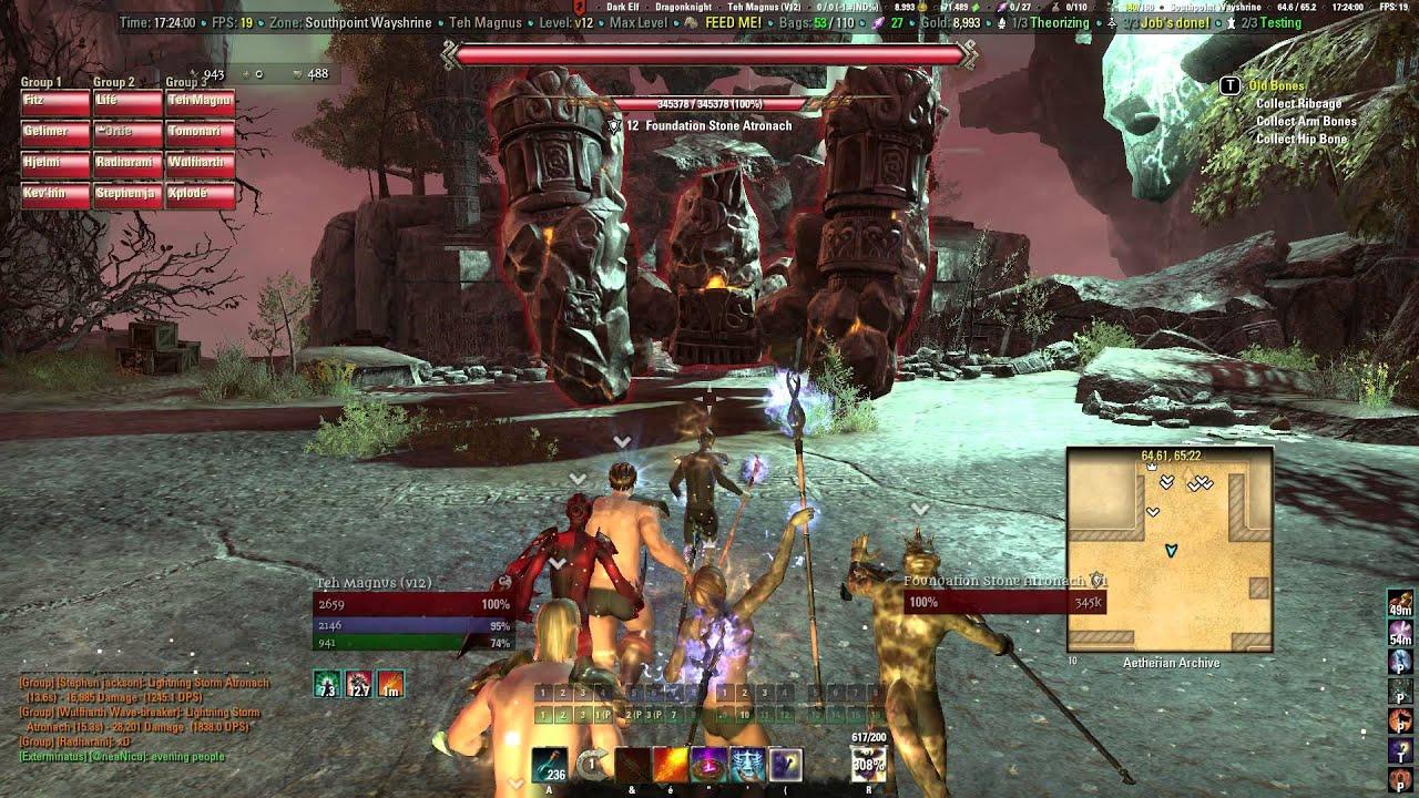 Elder Scrolls Online: Episode 1 The Naked Traveler - YouTube