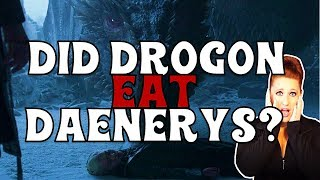 What did Drogon do with Daenerys? (GAME OF THRONES)
