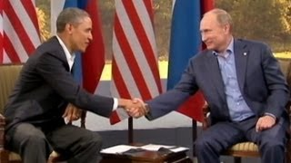 President Obama in Russia for G20 Summit: Syria Intervention Sidelines Economic Focus