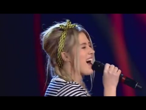 Eliska Mrazova sings 'Set Fire To The Rain' by Adele - Blind Auditions