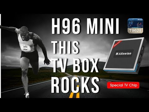 Alfawise H96 Mini 4K TV Box - WoW! Best performing low cost TV Box for 2017