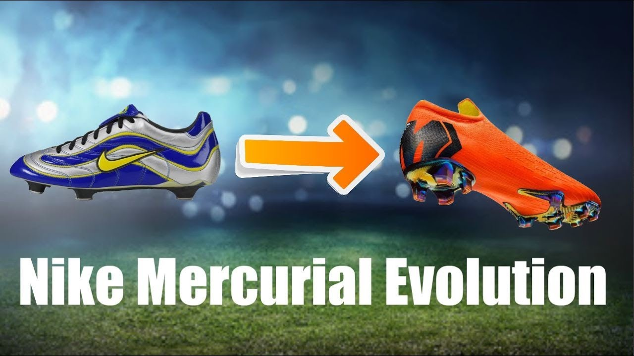80139f130d4e Nike Mercurial Evolution 1997-2018 | Freestyleskills32 - YouTube