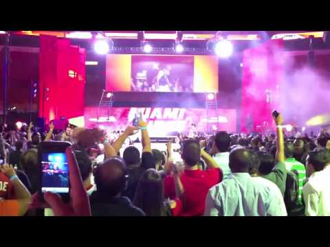 Miami Heat Welcome Party with Dwyane Wade, Chris Bosh and LeBron James HD