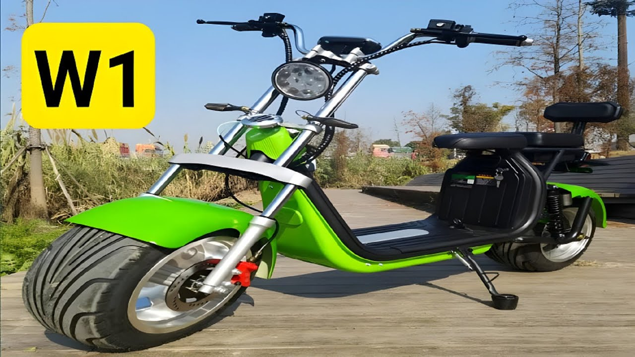 Download CHEAPEST VEHICLES   MODERN ELECTRIC SCOOTER W1 - PRICES START FROM 13 THOUSAND!!