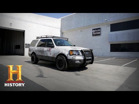 Counting Cars: The Team Is Challenged to Paint a 2005 Escape (Season 7, Episode 14) | History