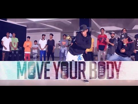 Move Your Body ft Badshah| DJ Shadow Dubai | Sean Paul | Dance Choreography @Ajeesh krishna
