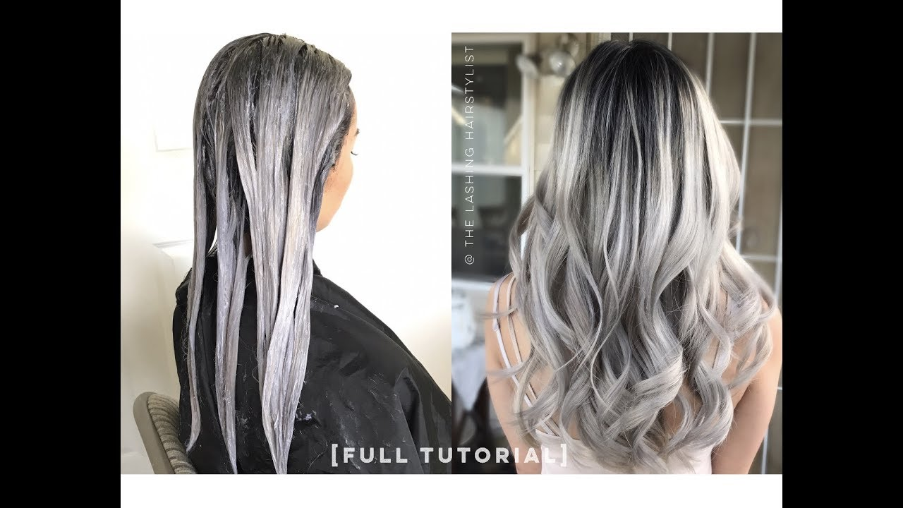 Gray Hair Color For Guys