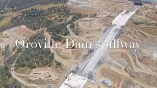 GoPro helicopter ride over Oroville Dam spillway