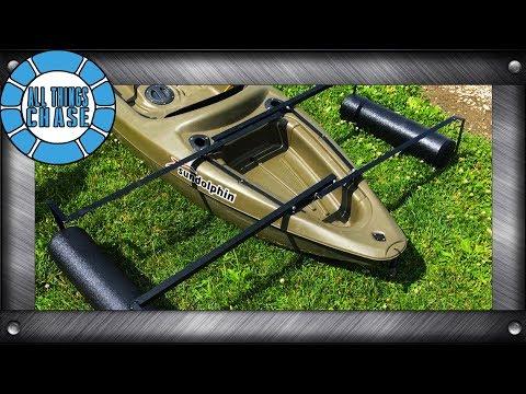 Building Custom Canoe/Kayak Stabilizers!