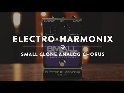 Electro-Harmonix Small Clone Analog Chorus | Reverb Demo Video