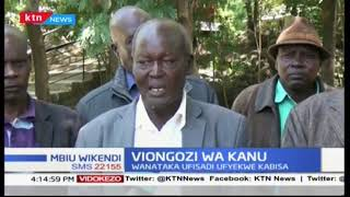 Viongozi wa chama cha KANU wataka Rais Uhuru Kenyatta kuendelea na vita dhidi ya ufisadi