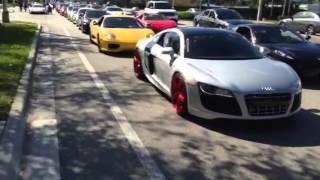 Ft Lauderdale a Exotic Car Run