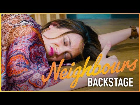 Neighbours Backstage - Eve Takes A Tumble