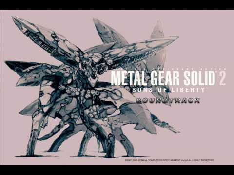 [Music] Metal Gear Solid 2 - Title Screen