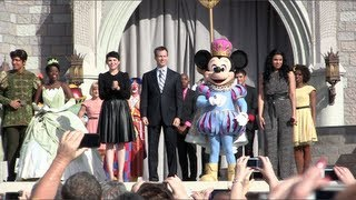 New Fantasyland grand opening ceremony with Jordin Sparks singing Disney song medley
