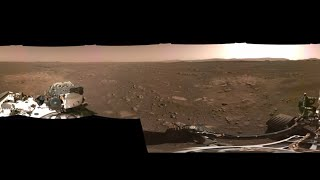 NASA releases PANORAMA IMAGE of Mars surface!