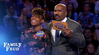 Crawfords cashing in AGAIN? | Family Feud