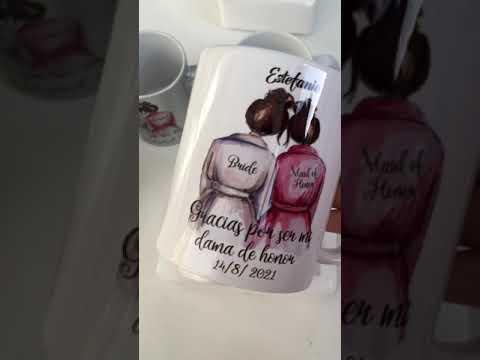 Custom Ceramic Mug Cup For Your Best Friend Bridesmaid
