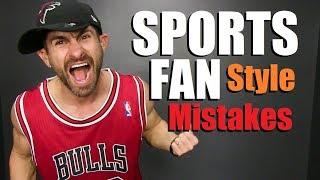 90s Sports Fan Fashion