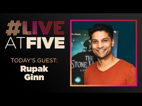 Broadway.com LiveatFive with Rupak Ginn of THE STONE WITCH