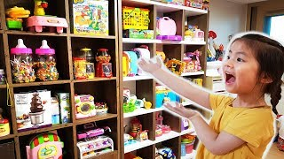[최초공개] 처음으로 서은이 장난감 방을 소개합니다!! 와 이런것도 있네요 콩순이 타요 아이스크림 가게 신비아파트 Introduce Toy Room