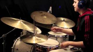 Out in the Open Up Tempo Jazz Drums