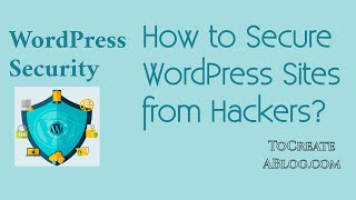 how to secure WordPress website from hackers 2020