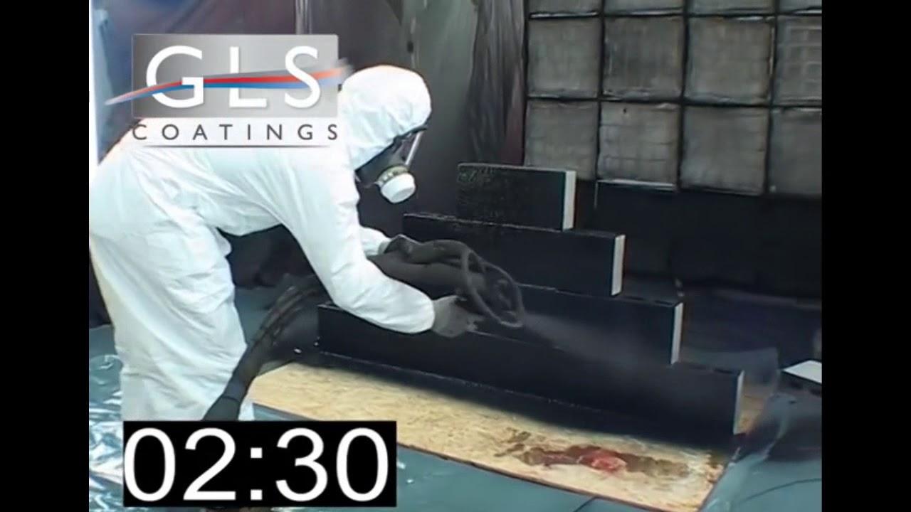 Gls Coatings Polyurea Sledgehammer Test